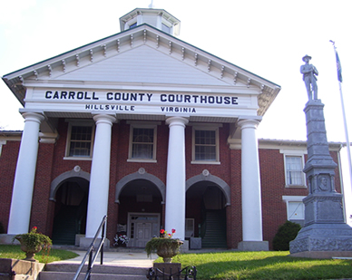 carroll-county-courthouse - Yonce Real Estate & Appraisal